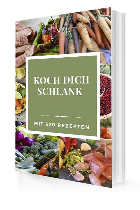 Cover - Koch dich schlank mit 320 Rezepten